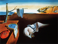 The Persistence of Memory, 1931, by Salvador Dali